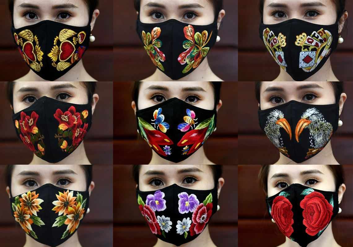 Fashion Designers Creating Face Masks With Flair Pittsburgh Post Gazette