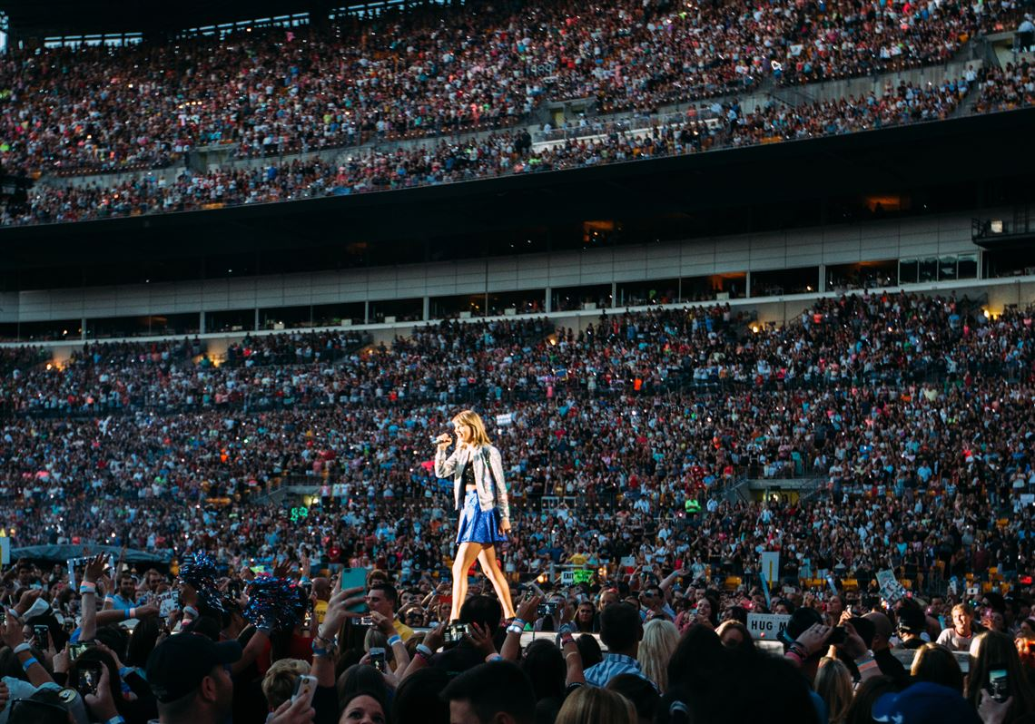 Taylor Swift Dazzles At Heinz Field Once Again With 1989 Tour Pittsburgh Post Gazette