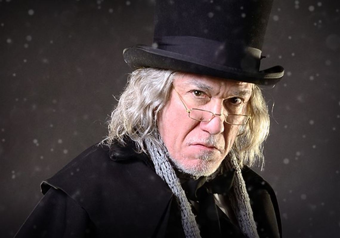 Christmas Carol Scrooge.Stage Preview Broadway Star Steps Into Role Of Scrooge In