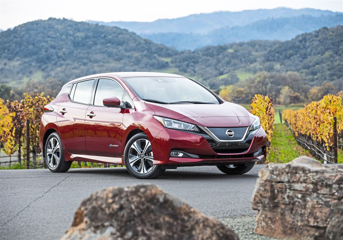 The 2018 Nissan Leaf Gets A New Look And A Longer Range. That Range Is