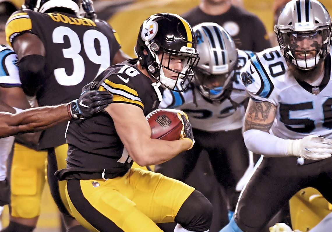 e8fd7afe1 Steelers Ryan Switzer returns a kickoff against the Panthers in the second  quarter Thursday at Heinz