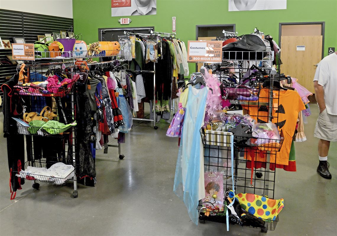 goodwill knows you shop there for halloween costumes. now it's ready