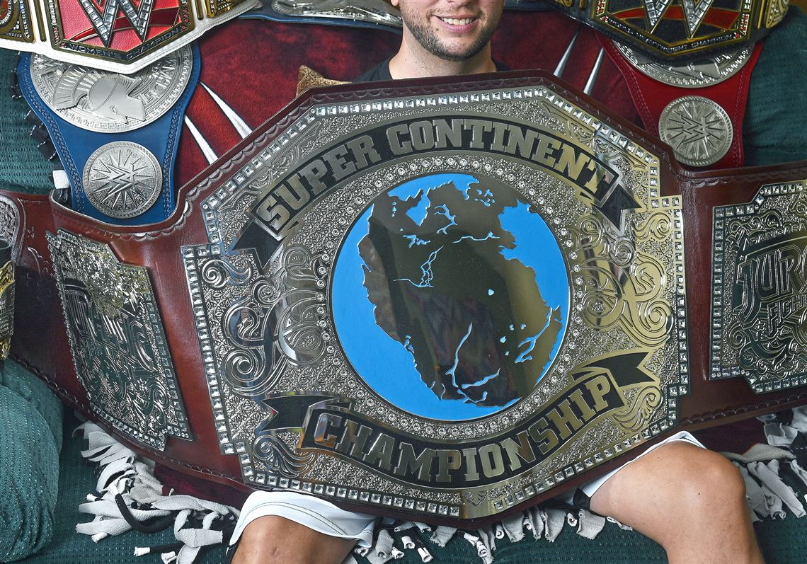 latrobe cradle of the world s biggest fight championship belt