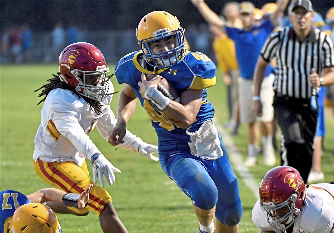 Derry Receiver Justin Flack Grabs Four Touchdowns In Big Shutout Win