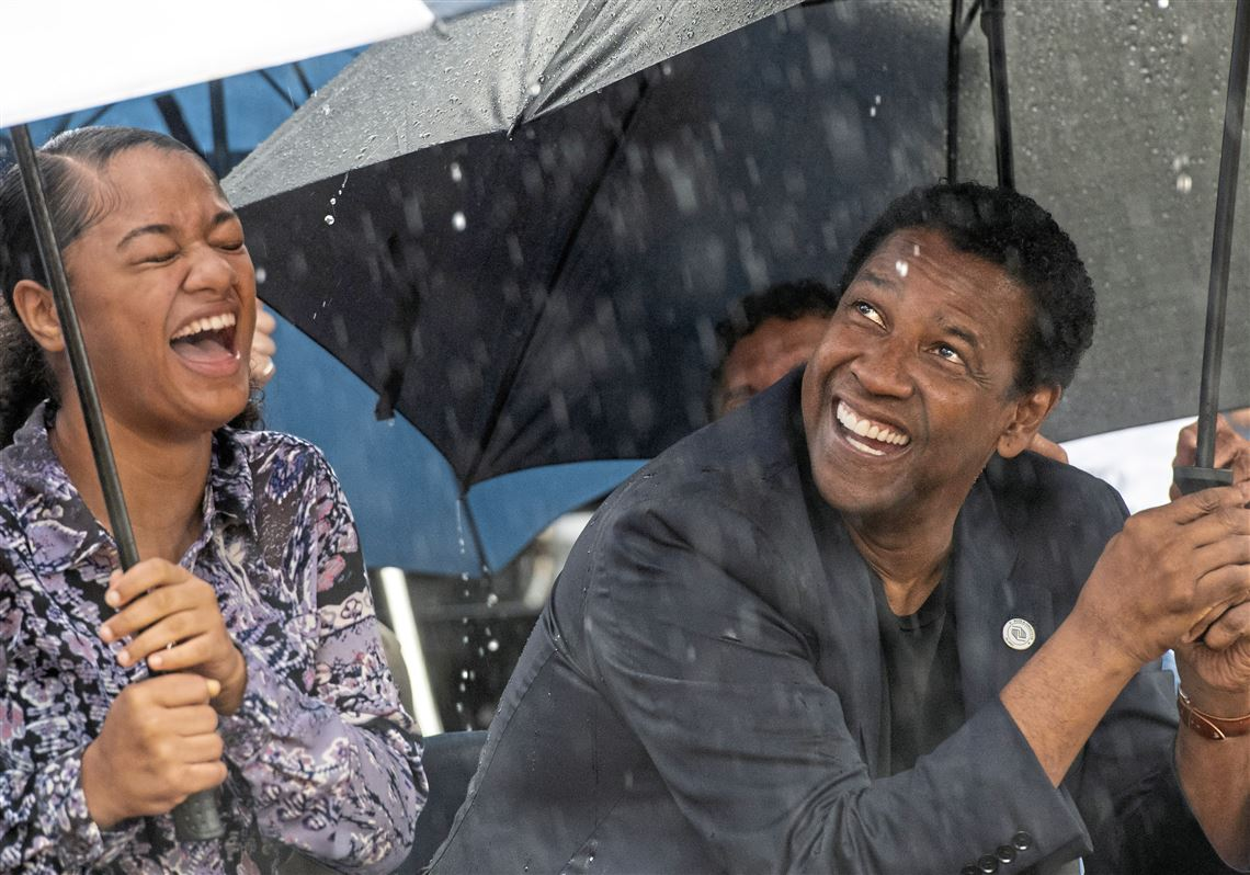 Denzel Washington Returns To The Hill District To Bestow 5 Million