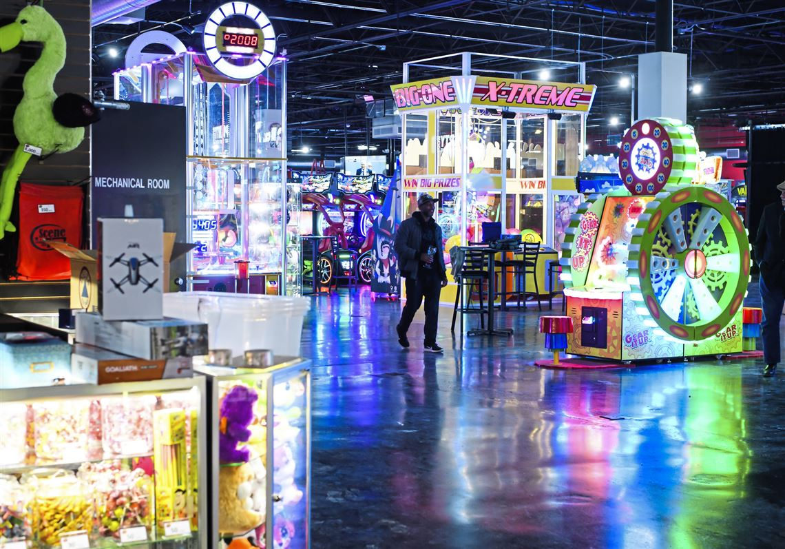 Scene75 Offering 120 Arcade Games 12 Indoor Attractions Opens