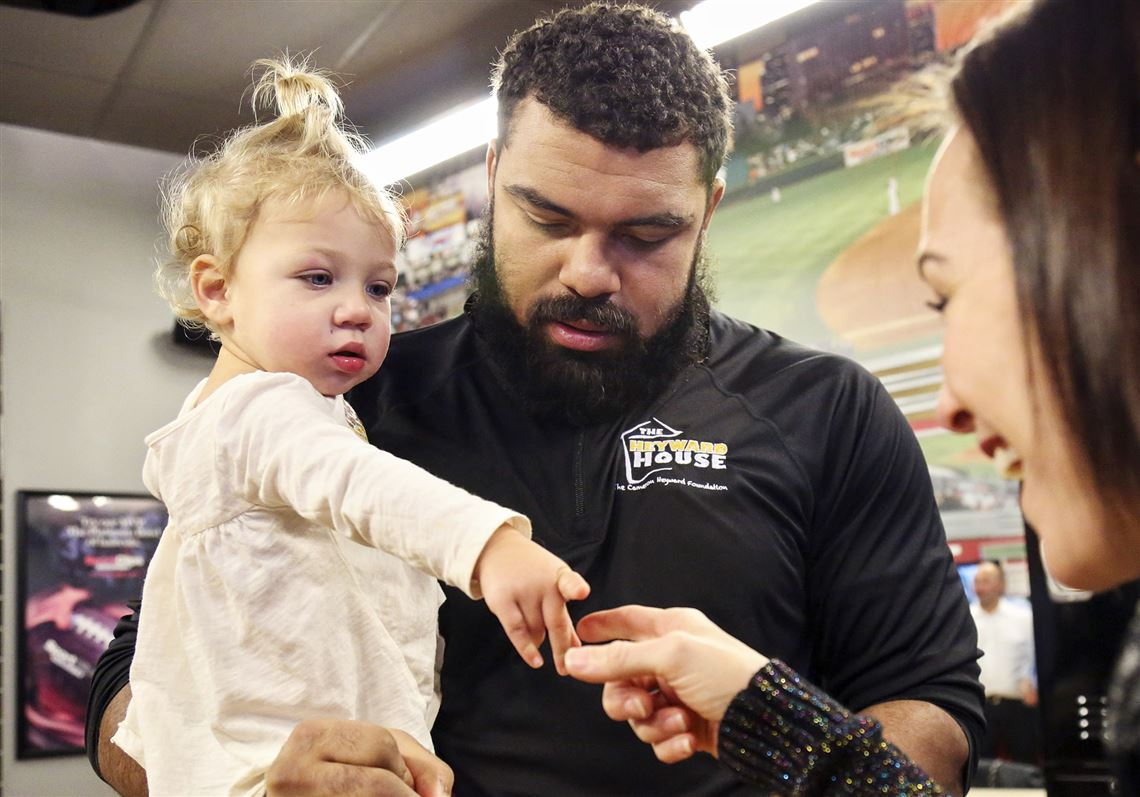 0d068923dc7 Ron Cook  Steelers  Cam Heyward makes biggest impact in community ...