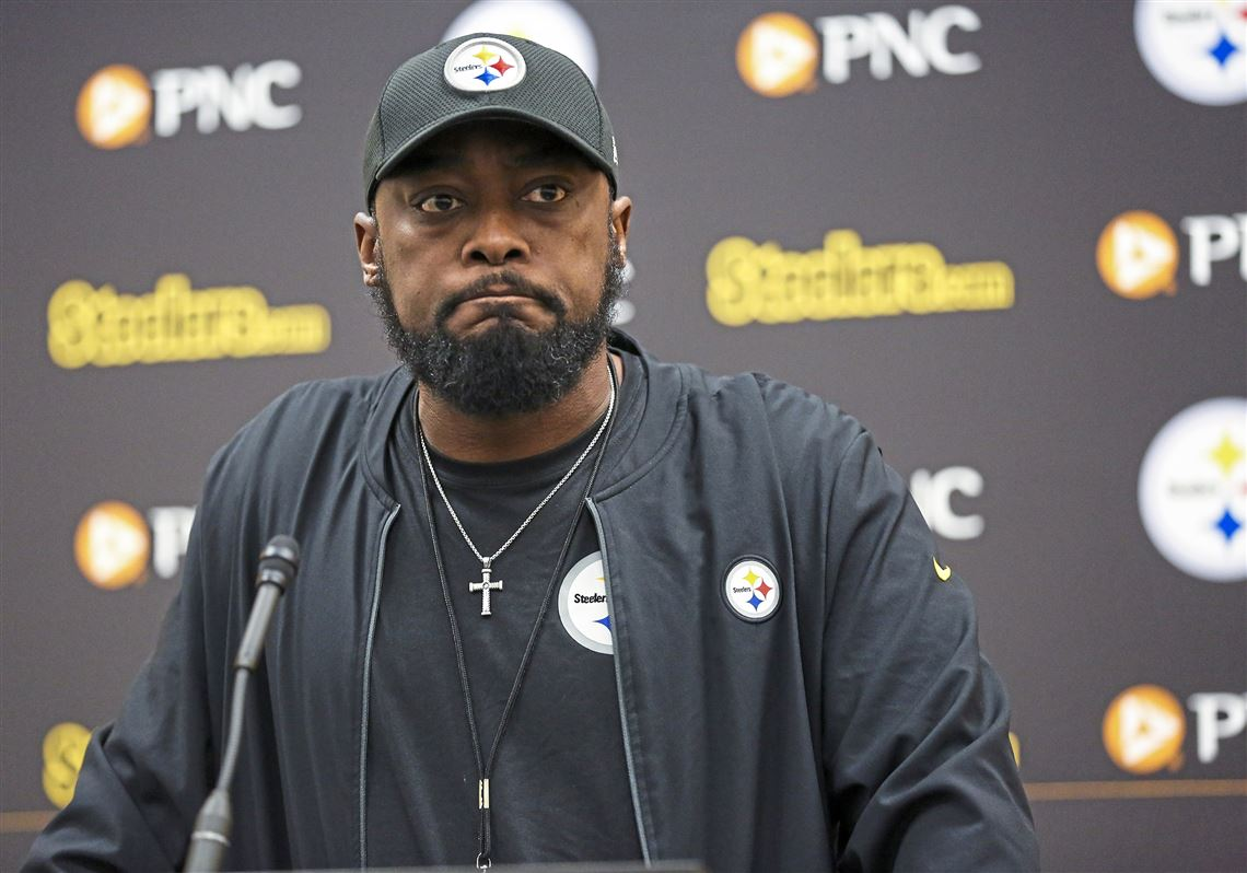 a0d017af Steelers Head Coach Mike Tomlin talks about his team's recent downfalls  against the New Orleans Saints