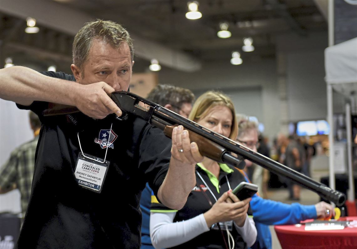 What we need in this country is education': Gun expo in