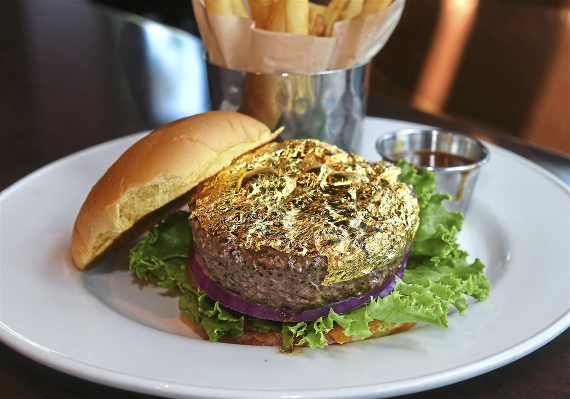 Hard Rock Cafe's 24K burger glitters but does not shine
