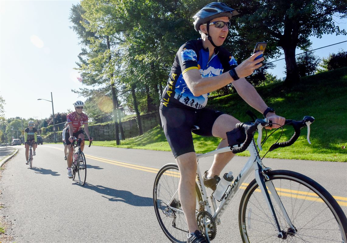 brand new 2c40c cb5db Pedal Pittsburgh brings out thousands for bike ride through ...