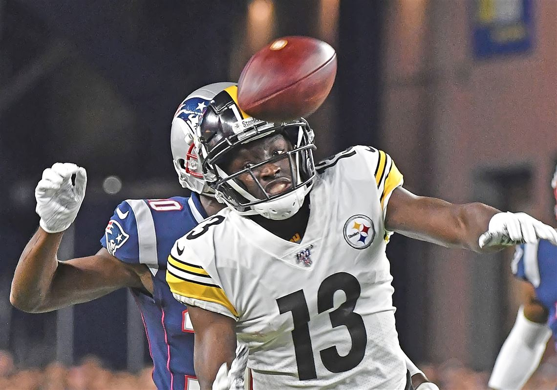 Steelers Struggle On Offense In First Game Without Antonio