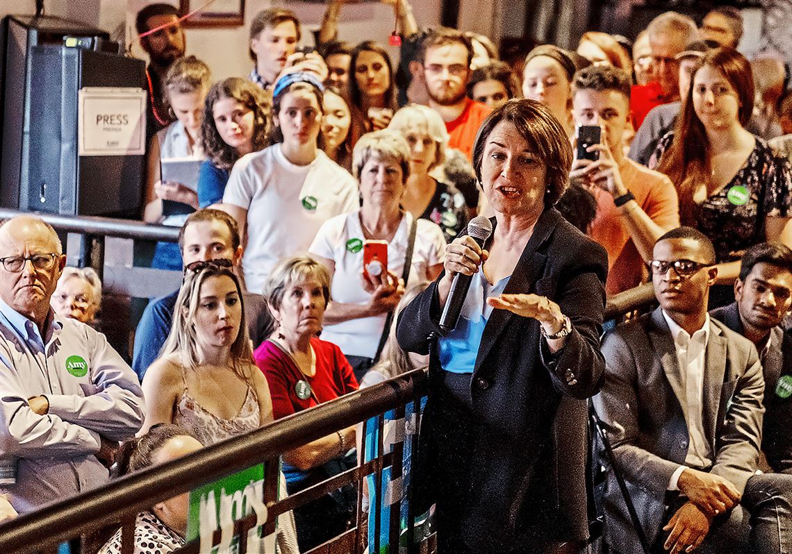 Amy Klobuchar touts early focus on PA as key to Democrats' 2020 success