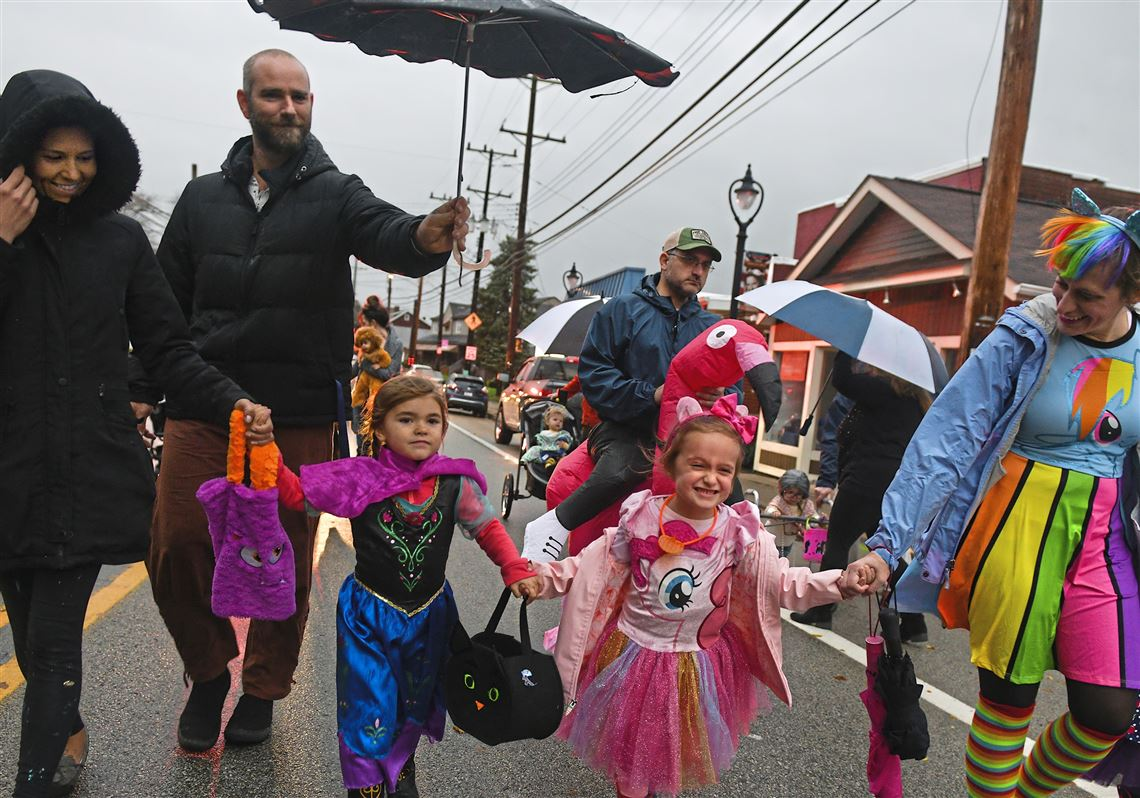Mt Lebanon Trick Or Treat Halloween 2020 Wet, windy weather forces many communities to move trick or