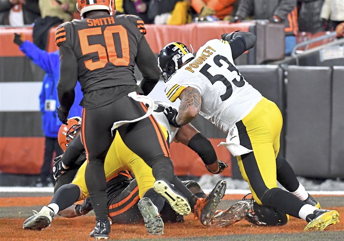 Browns End Steelers Four Game Winning Streak On Surreal