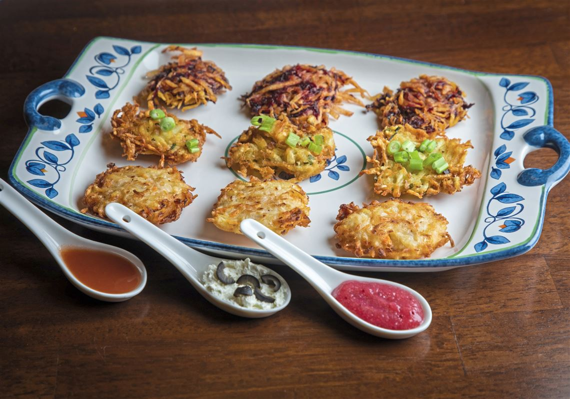 Nontraditional latkes that will win your bubbe's heart