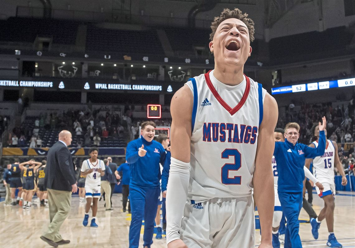 Freshman Rodney Gallagher makes free throws to give Laurel Highlands WPIAL title