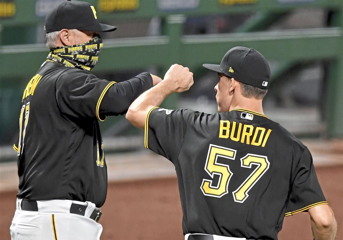 Burdi after a win over Brewers | Pittsburgh Post-Gazette