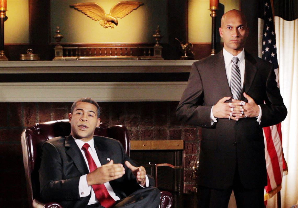 Jordan Peele, left, and Keegan-Michael Key in a sketch from their former show