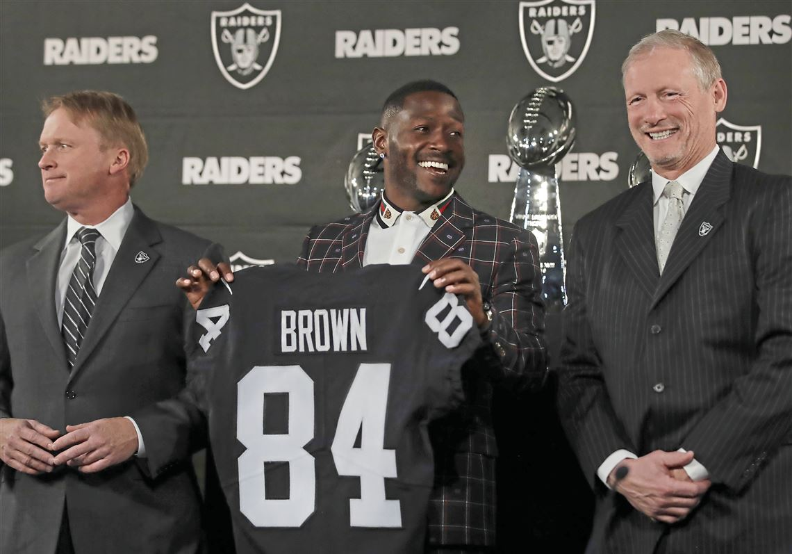 Image result for antonio brown raiders