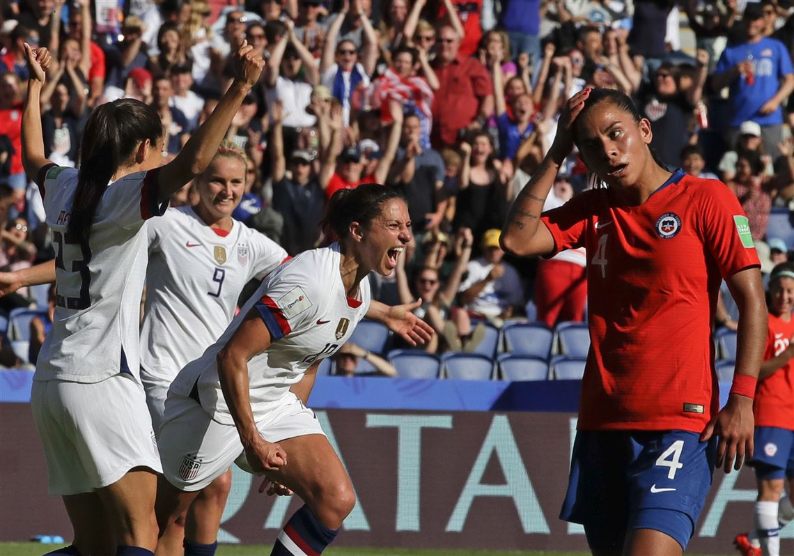 Carli Lloyd starts, scores twice in United States' win vs. Chile in World Cup