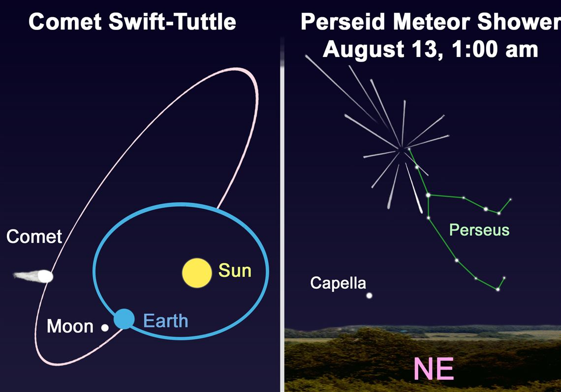 Stargazing: Perseid meteor shower and Swift-Tuttle comet create starry spectacular
