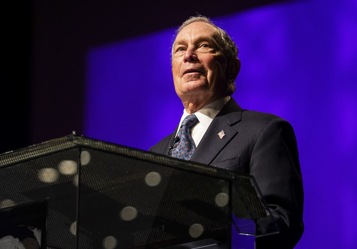 Michael Bloomberg files paperwork for a Democratic presidential run