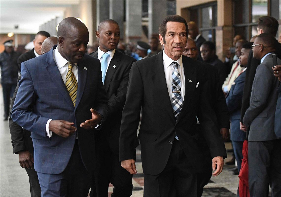 Botswana's leader, Ian Khama, does something popular African ...