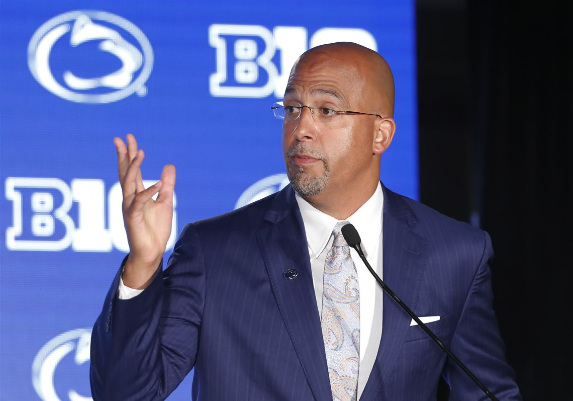 Penn State's James Franklin wants to discuss Big Ten division