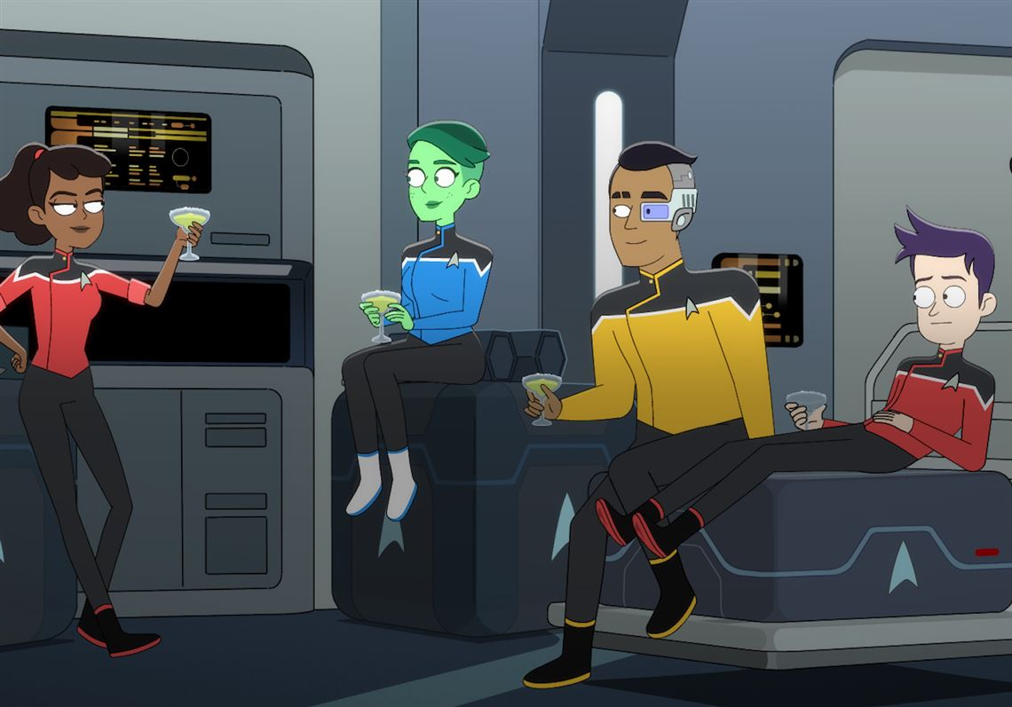 Tuned In: 'Star Trek' attempts comedy; Discovery's 'Shark Week' swims into view