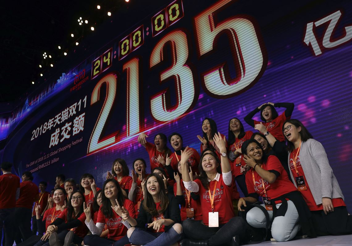 Watch Singles Day made Alibaba 25 billion in largest shopping holiday video