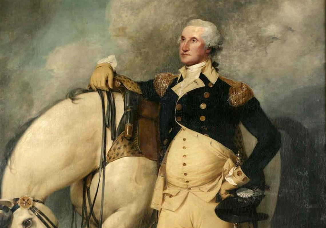 A reflection of George Washington | Pittsburgh Post-Gazette