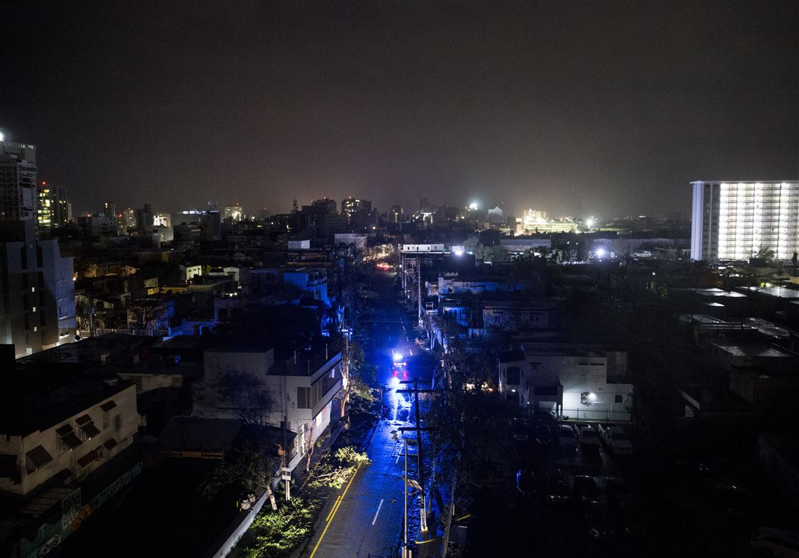 Puerto Rico's power company was already bankrupt  Then Hurricane