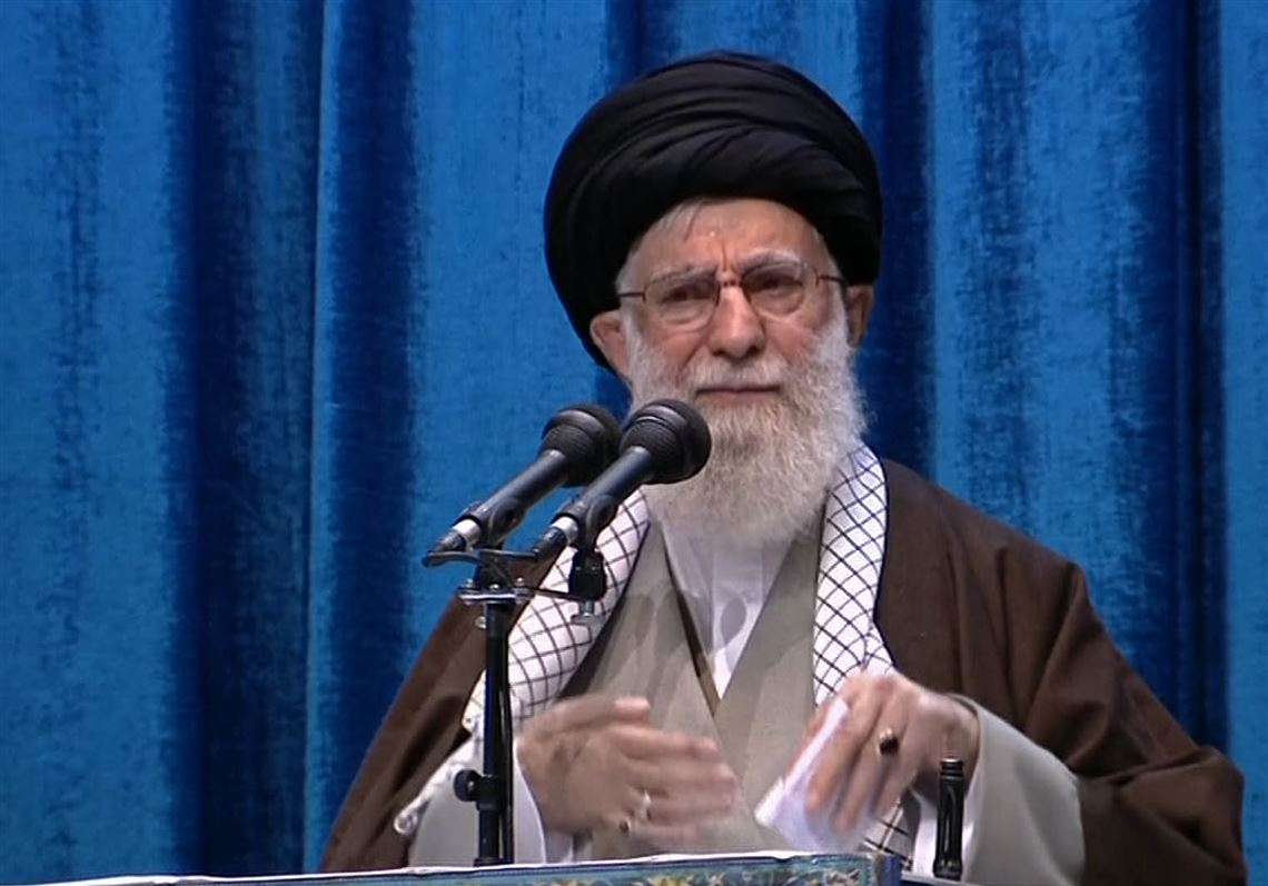 Iran leader: U.S. 'superpower image' took a hit