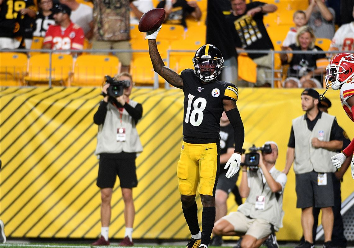 Young Steelers receivers James Washington, Diontae Johnson making impression
