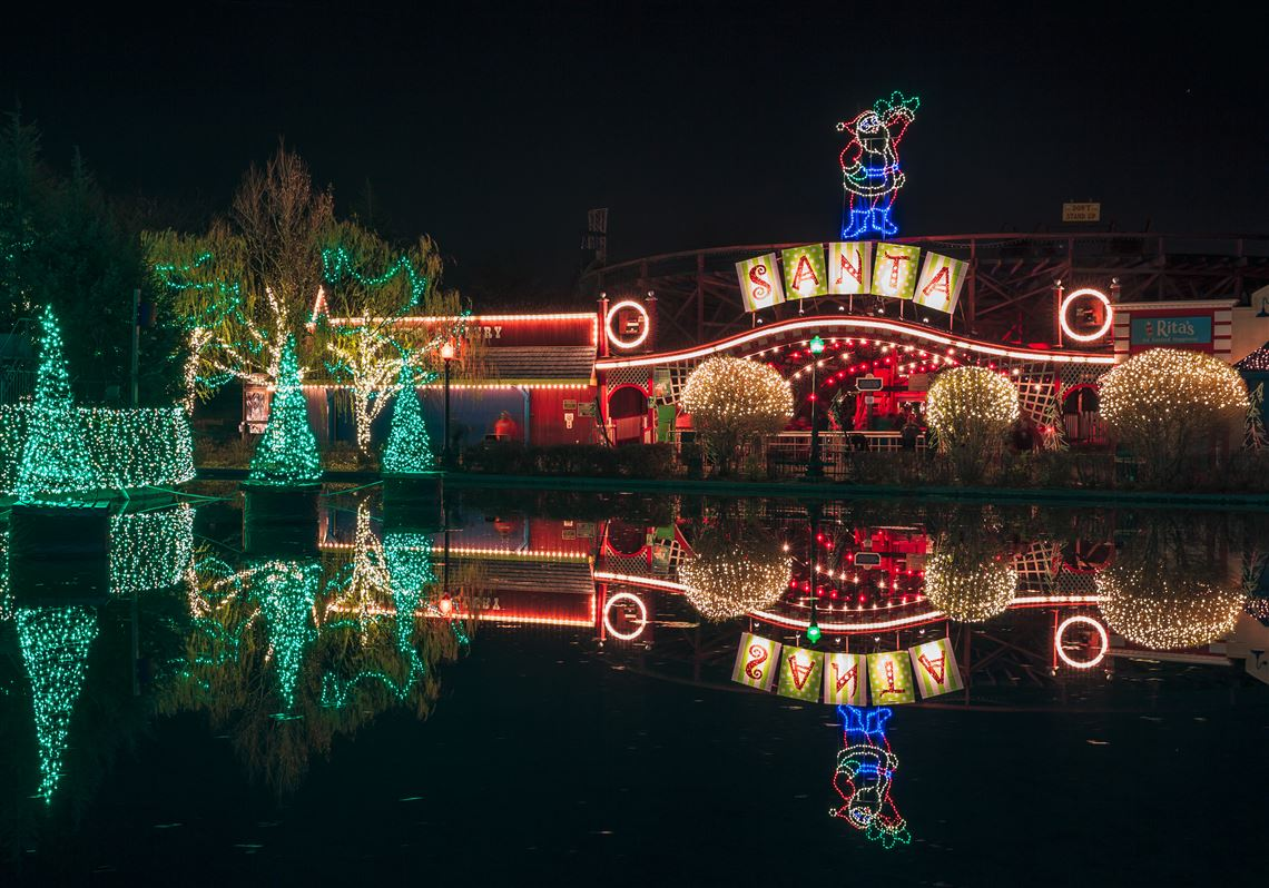 Kennywood Christmas Lights 2019 Nights will be merry and bright as Kennywood prepares for annual