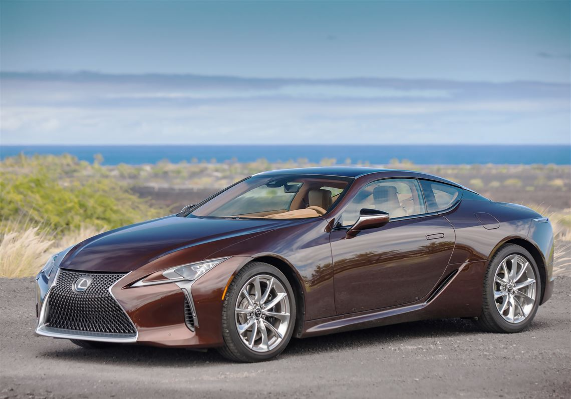 The New For 2018 Lexus Lc500 Coupe Is Definitely A Looker Fun To