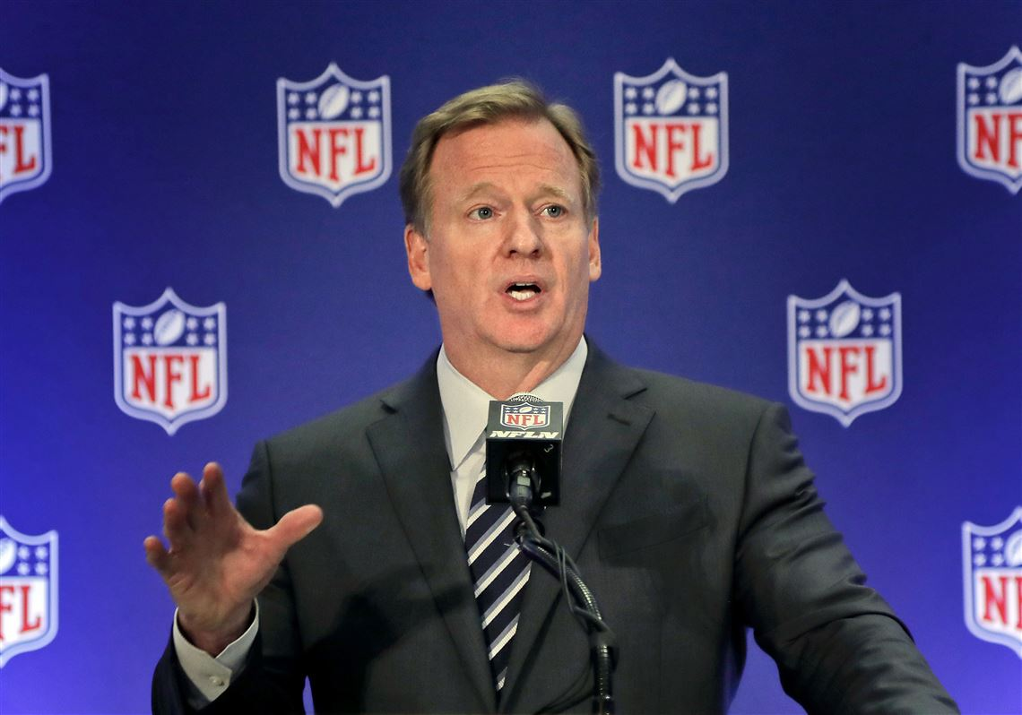 Roger Goodell: 'The NFL stands with the Black community' | Pittsburgh  Post-Gazette