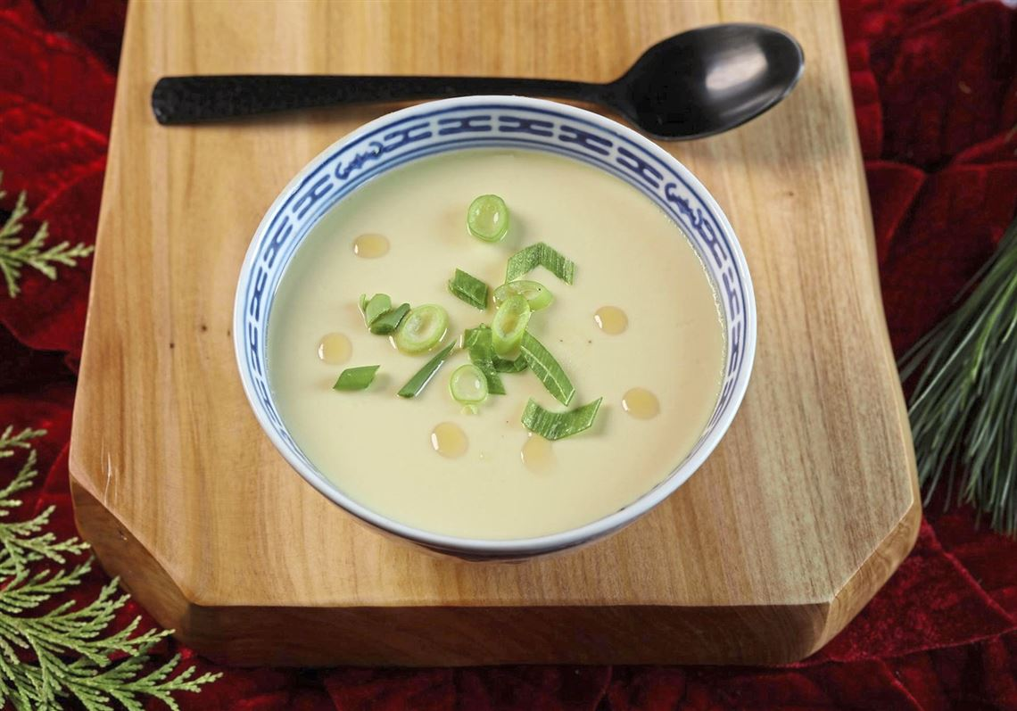 Incredible edible steamed eggs are soothing, nourishing
