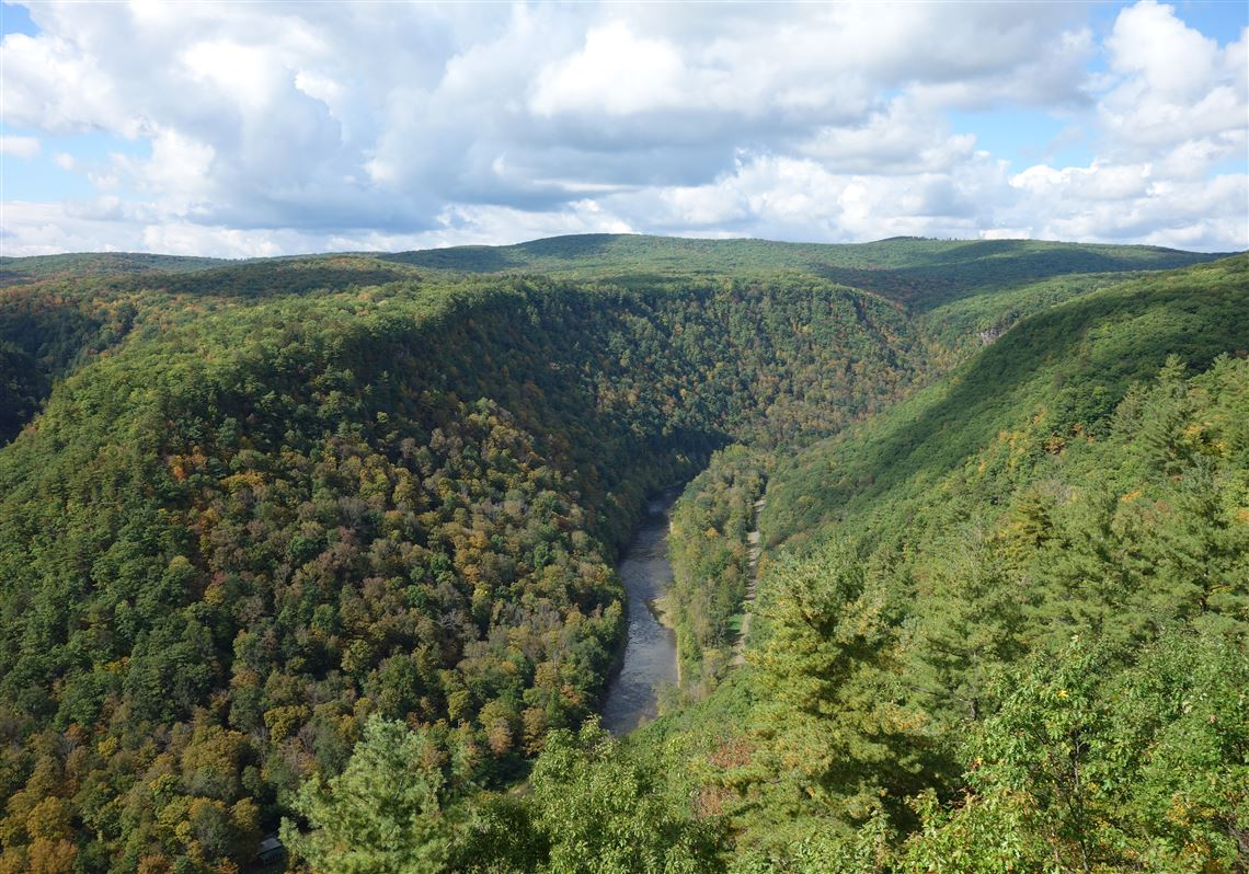 Grand Canyon of Pa  boomed, died and bloomed again