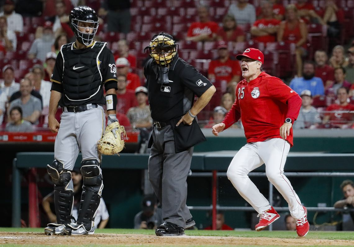 Image result for clint hurdle david bell home plate