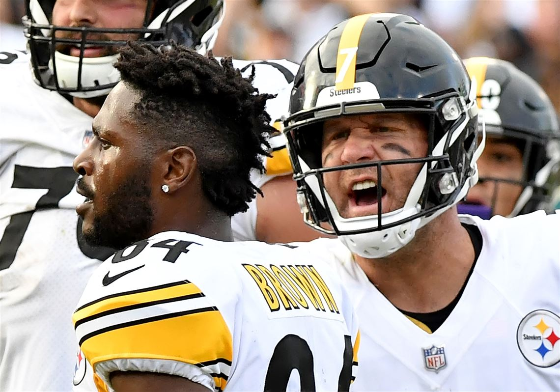 Ben Roethlisberger: Criticizing Antonio Brown last season 'ruined ...