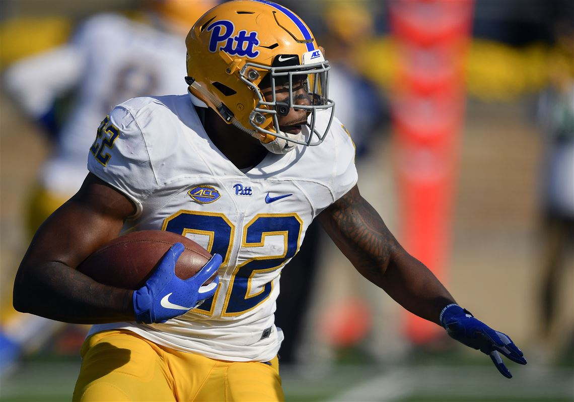 40c42dabc Darrin Hall carries against Saturday afternoon against Notre Dame at Notre  Dame Stadium. Pitt led