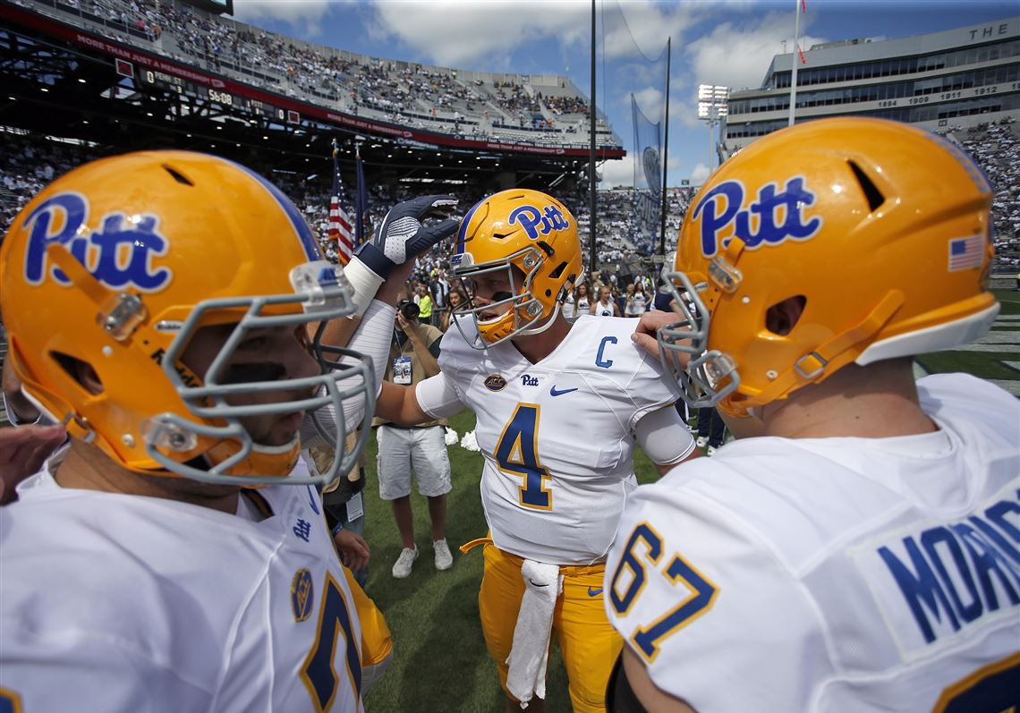 new product 289ee 2e347 Pitt football breaks out road 'retro' uniforms | Pittsburgh ...