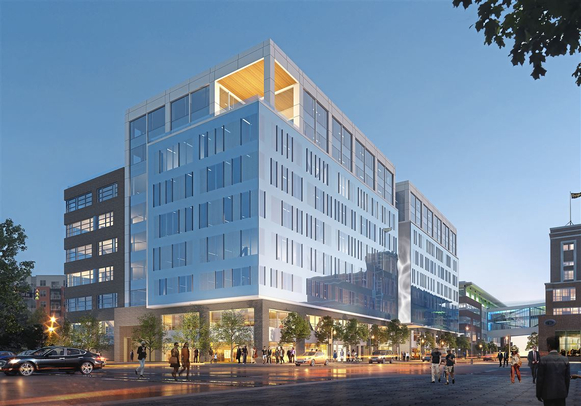 Rendering Of Proposed Philips Office At Bakery Square