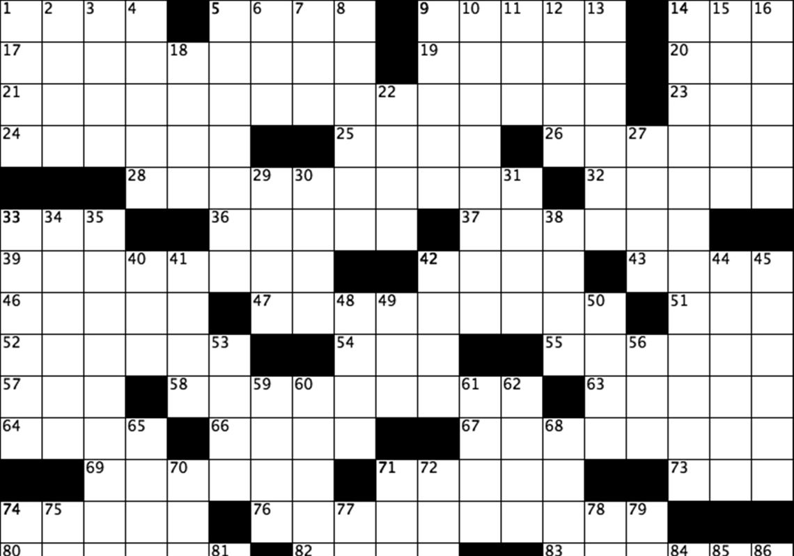 graphic relating to Free Daily Printable Crossword Puzzles Online identified as Each day interactive crossword puzzle Pittsburgh Posting-Gazette