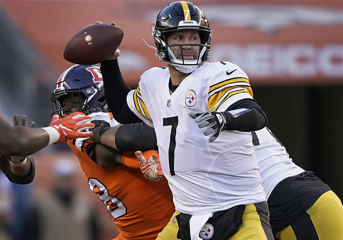 a9f46b0c8c0 Ben Roethlisberger put up big numbers Sunday in Denver.