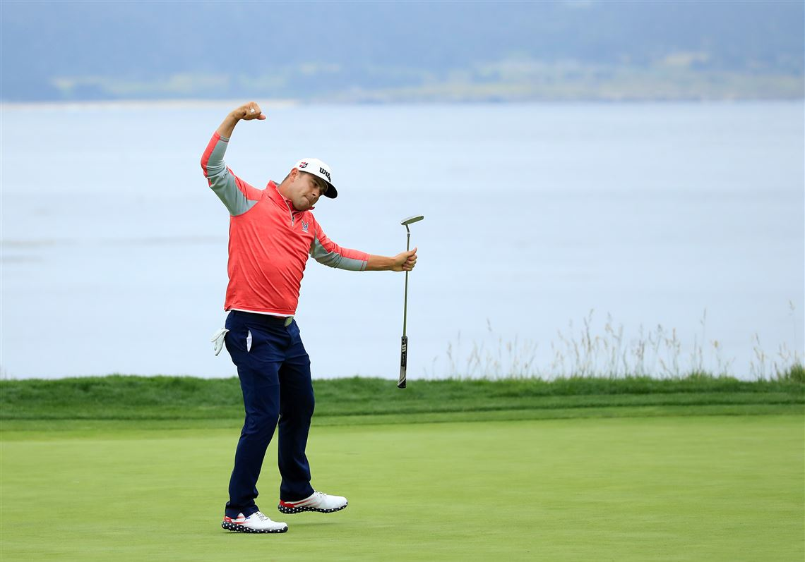 Gary Woodland holds off Brooks Koepka's run for history for first major title at U.S. Open