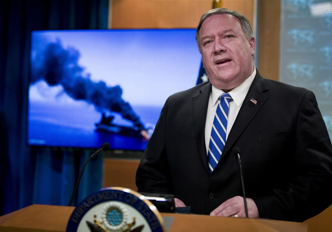 Pompeo on Iran: U.S. considering range of options including military
