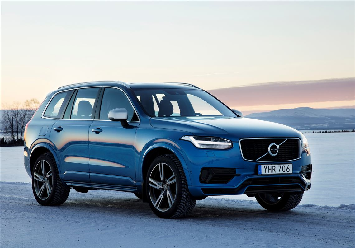 Exterior The 2017 Volvo Xc90 T8 Hybrid Offers Plenty Of Performance And Luxury But